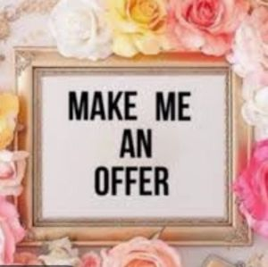 Make Me an Offer I don't bite 😬😂